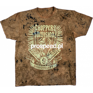 T-shirt 9 urodziny Trawiona - Choppers Division