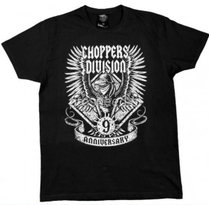 T-shirt 9 urodziny black - Choppers Division