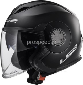 Kask Motocyklowy LS2 OF570 VERSO SOLID BLACK