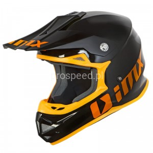 Kask motocyklowy Off ROAD KASK IMX FMX-01 PLAY BLACK/ORANGE