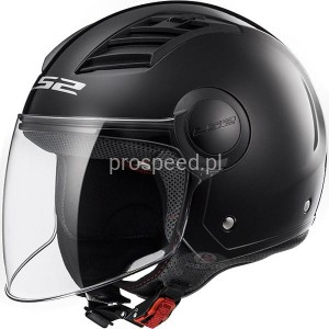 Kask Motocyklowy LS2 OF562 AIRFLOW SOLID BLACK